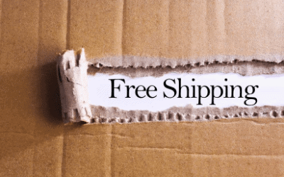 Free shipping to promote Etsy
