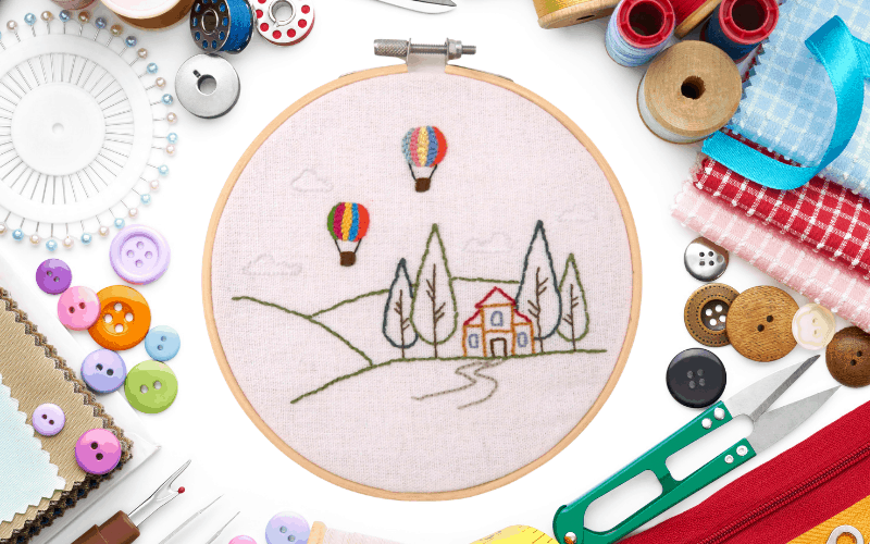 how to make your own embroidery design